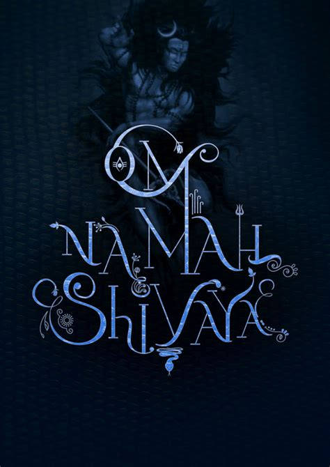 om tattoo hd images om namah shivaya typography on behance