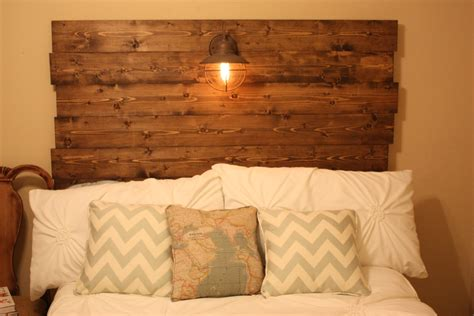 Make A Wood Headboard wood headboard how to in high cotton