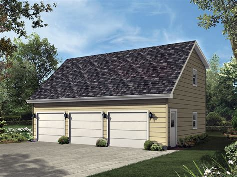 saltbox garage plans loren three car garage plan 107d 6005 house plans and more
