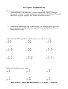 17 best images of pre algebra worksheets free printable