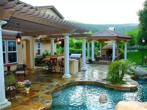 nicest backyards nice backyard gardening flowers patios porches pinterest