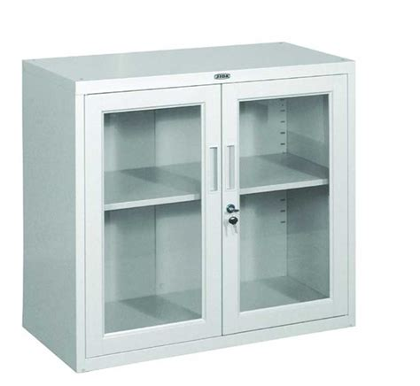 Steel Cabinet Doors Storage Cabinets Storage Cabinets With Glass Doors