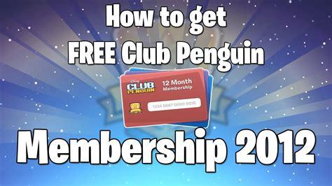free club penguin membership how to get free club penguin membership youtube