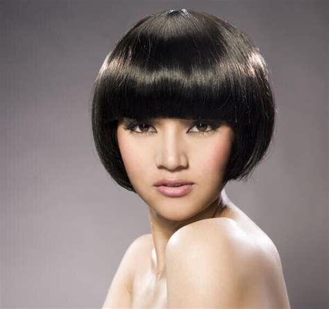 chinese bang wig black hair 2015 chinese best black short synthetic bobo hair wigs