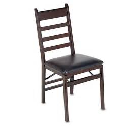 Padded Folding Dining Room Chairs Cosco 174 Wood Folding Chair With Padded Seat Bed Bath Beyond