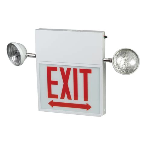 exit emergency light combo chicago combo led exit sign emergency light