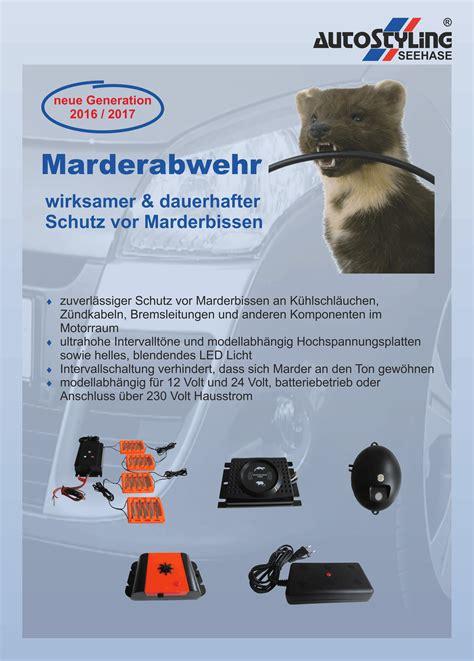 Marderabwehr Auto by Marderabwehr