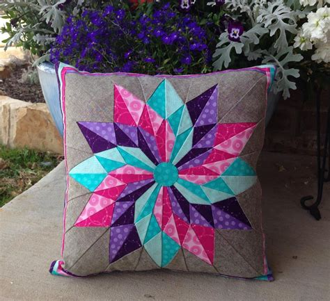 pattern project ideas you have to see good luck star pillow on craftsy
