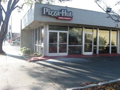 pizza hut hill ca pizza hut contra costa blvd pleasant hill ca pizza