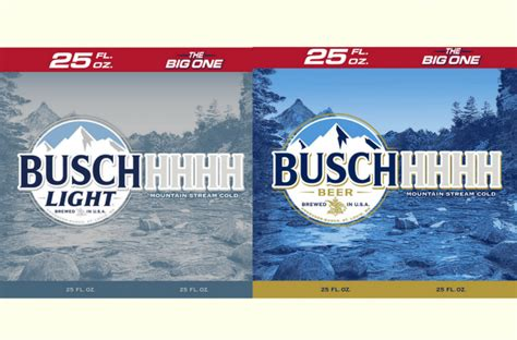 busch light gold can 2017 is a makeover coming for busch and busch light labels