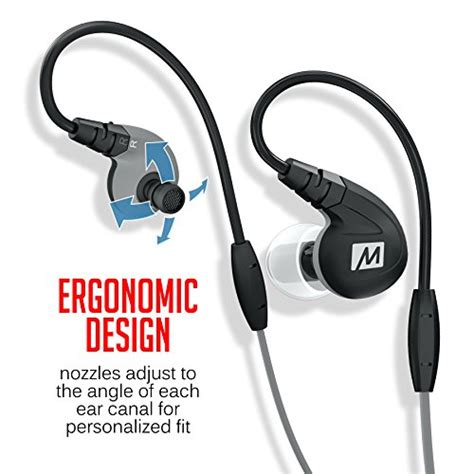 Meelectronics M7p Secure Fit Sports In Ear Headphones With Mic Remote 3 mee audio m7p secure fit sports in ear headphones with mic import it all