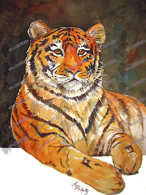 animal painting animal paintings mcnultyart