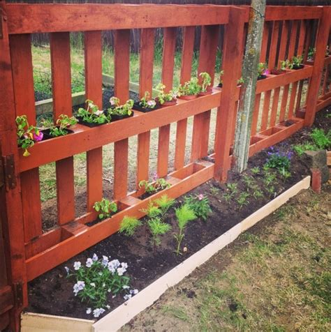 Zaun Aus Europaletten by Gartenzaun Selber Bauen Aus Paletten Ausgefallene Diy