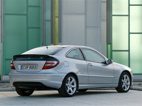 Mercedes Sports Coupe by Mercedes C Klasse Sportcoupe W203 Specs Photos