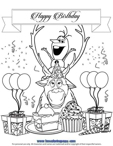 frozen coloring pages olaf and sven h m coloring pages