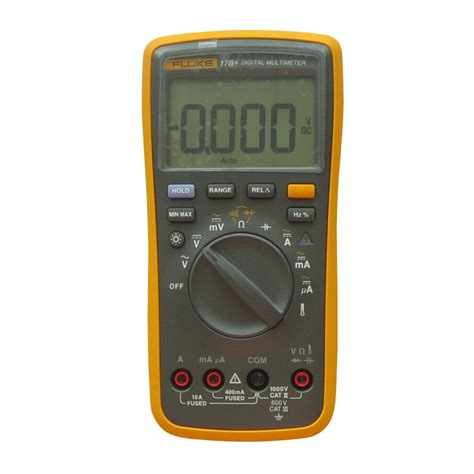 17b Fluke Digital Multimeter Ac Voltage 400mv To 1000v fluke 17b digital multimeter fluke 17b rm540 00