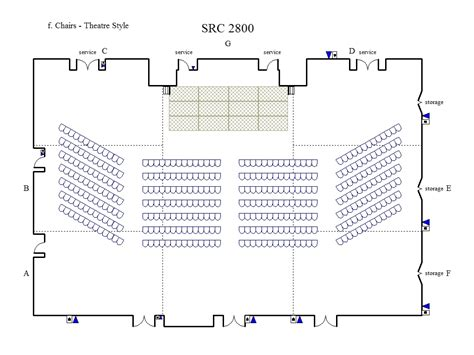 theatre style banquet seating college of dupage conference room set up capabilities