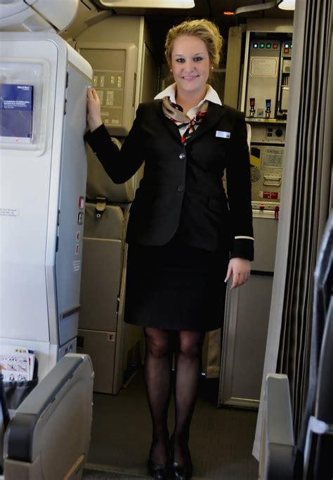 Flight Attendant Cabin Crew by Swiss Cabin Crew Stewardess Swiss