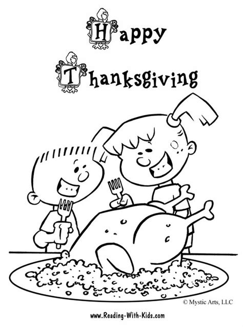 thanksgiving stuffing coloring page thanksgiving