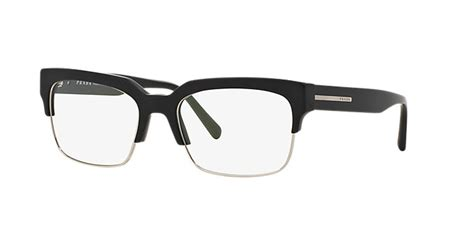 pr 19rv shop prada rectangle eyeglasses at lenscrafters