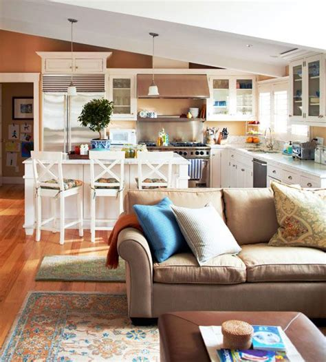 Should Kitchen And Living Room Be The Same Color 342 Best Open Floor Plan Decorating Images On