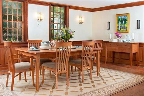 shaker dining room set classic shaker dining furniture set vermont woods studios