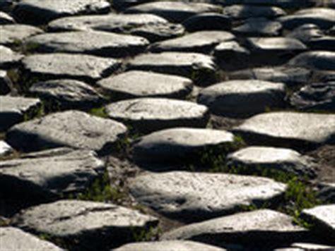 lettere romane antiche strada romana antica fotografia stock
