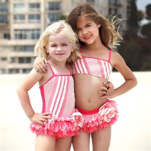 Isobella amp chloe little girls wine popsicle kisses one piece swimsuit