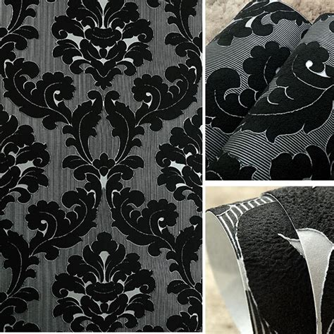 black damask wallpaper home decor 28 images black
