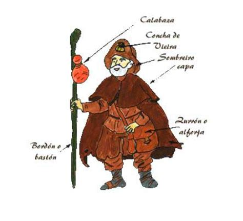 a pilgrim s guide to the camino de what did a pilgrim on the camino look like in the past