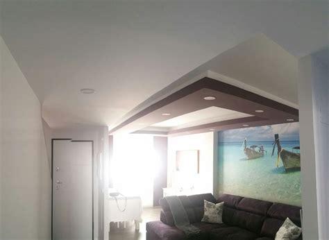 techos pladur decorativos techo decorativo de pladur con luz led ideas
