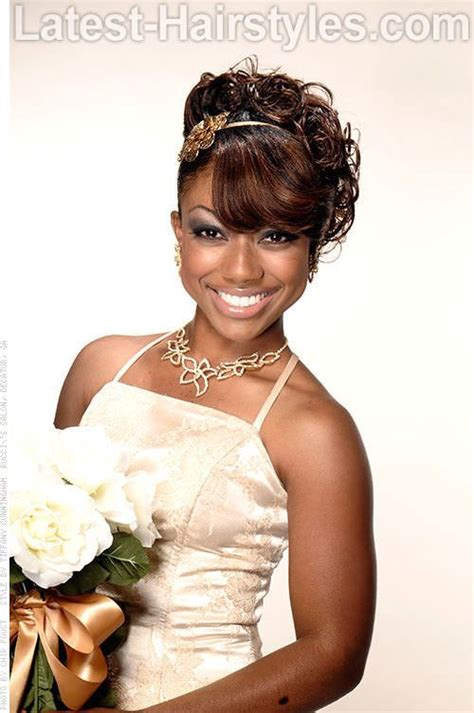 curly prom pin ups for black women african american wedding hairstyles that dazzle african