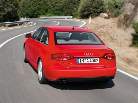 Audi A4 1 8 Tfsi by Audi A4 B8 1 8 Tfsi 120hp Technical Specifications And