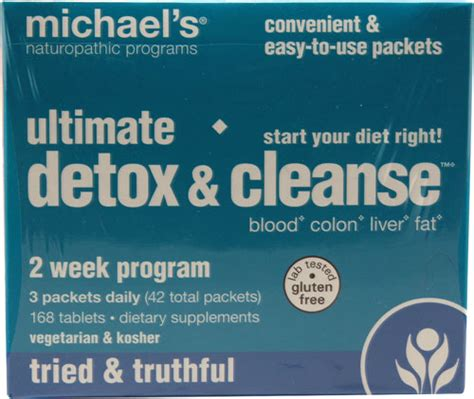 Naturopathic Detox Cleanse by Michael S Naturopathic Programs Ultimate Detox Cleanse 1