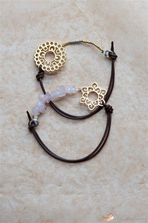 leather bracelet without a closure the trick is to
