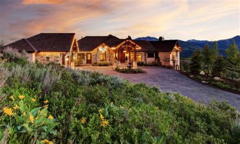 luxury ski  mountain homes park city utah real estate