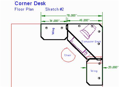 backwards l shaped desk woodwork plans a corner desk pdf plans