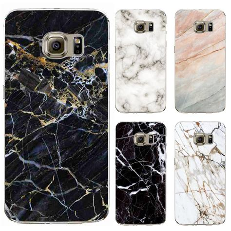 Soft Black A37 Neo 9 Silikon Silicon Casing 1 tpu cases cover for samsung galaxy s6 s6edge plus silicon phone soft marble image