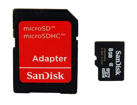 Memory Card Sand Disk 8gb server uk sandisk microsdhc 8gb card sd adapter