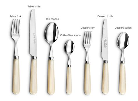 Types Of Kitchen Knives And Their Uses by Flatware Sets Various Styles And Materials