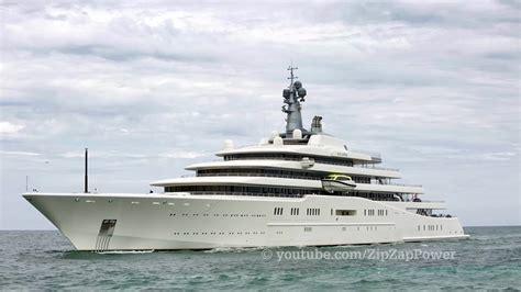 yacht eclipse eclipse mega yacht 1 5 billion arrival in florida youtube