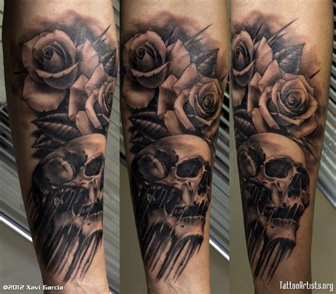skull n rosesmr tattoo artists org