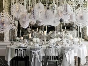 Christmas Winter Wonderland Decorations - d 233 co table no 235 l argent le glamour chic 224 la table festive