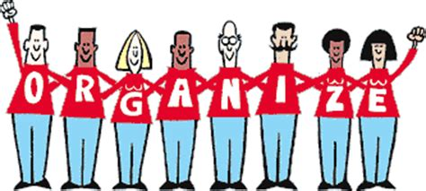 organize or organise the five basic steps to organizing a union ue