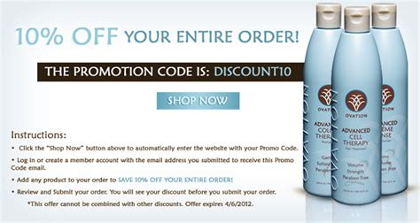 ovation cell therapy coupon codes dontpayfullcom miloberry blog ovation cell therapy 10 off code