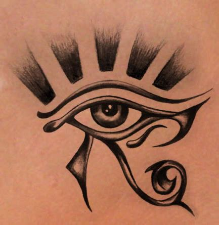 protection tattoo designs eye of horus powerful symbol used to protect from evil