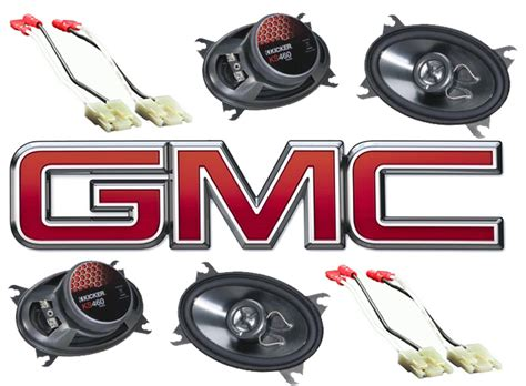 Speaker Gmc All Type Kicker Package Gmc Ck 88 94 Extended Cab Truck Factory Speaker Replacement 2