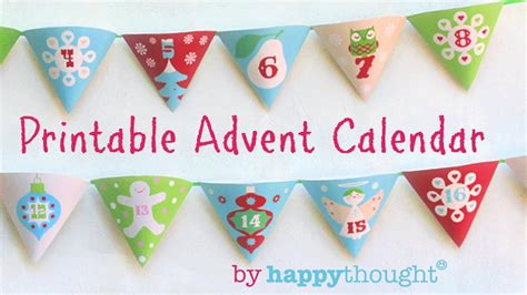 Make An Advent Calendar Template