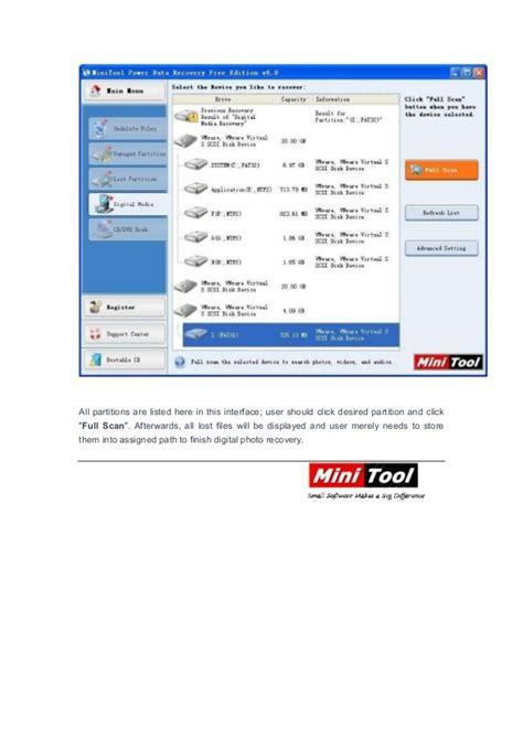 digital photo recovery digital photo recovery software mini tool power data recovery
