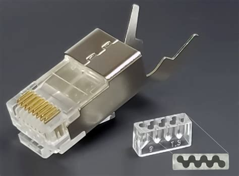 Conector Rj45 Cat 6 cat6 rj45 shielded connector